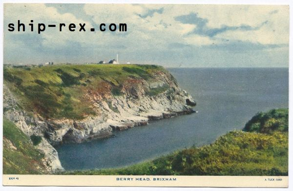 Brixham, Berry Head - postcard